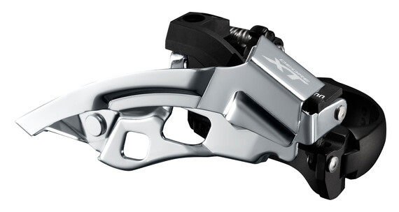 Shimano Deore XT Trekking FD-T8000 Voorderailleur klem laag 3 x 10 Down Swing zwart